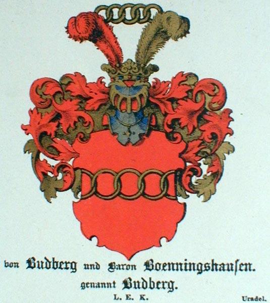 Wappen von Budberg